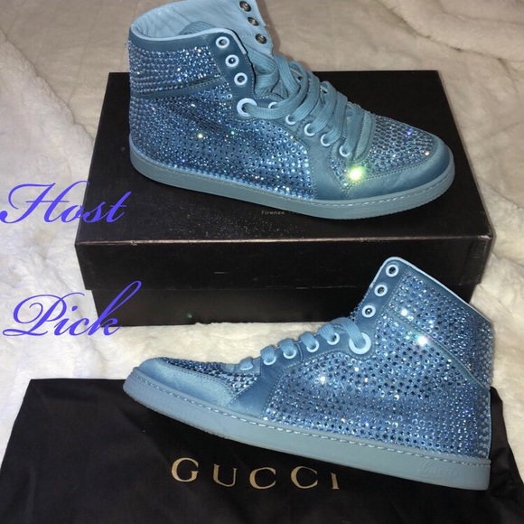 5414ac5ef Gucci Shoes | Crystal Sneaker | Poshmark
